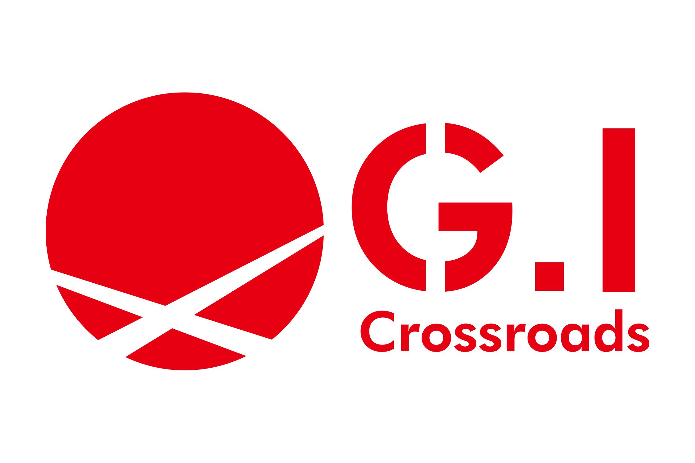 ロゴ g i crossroads 制作実績 colors カラーズ 印刷物 商業広告