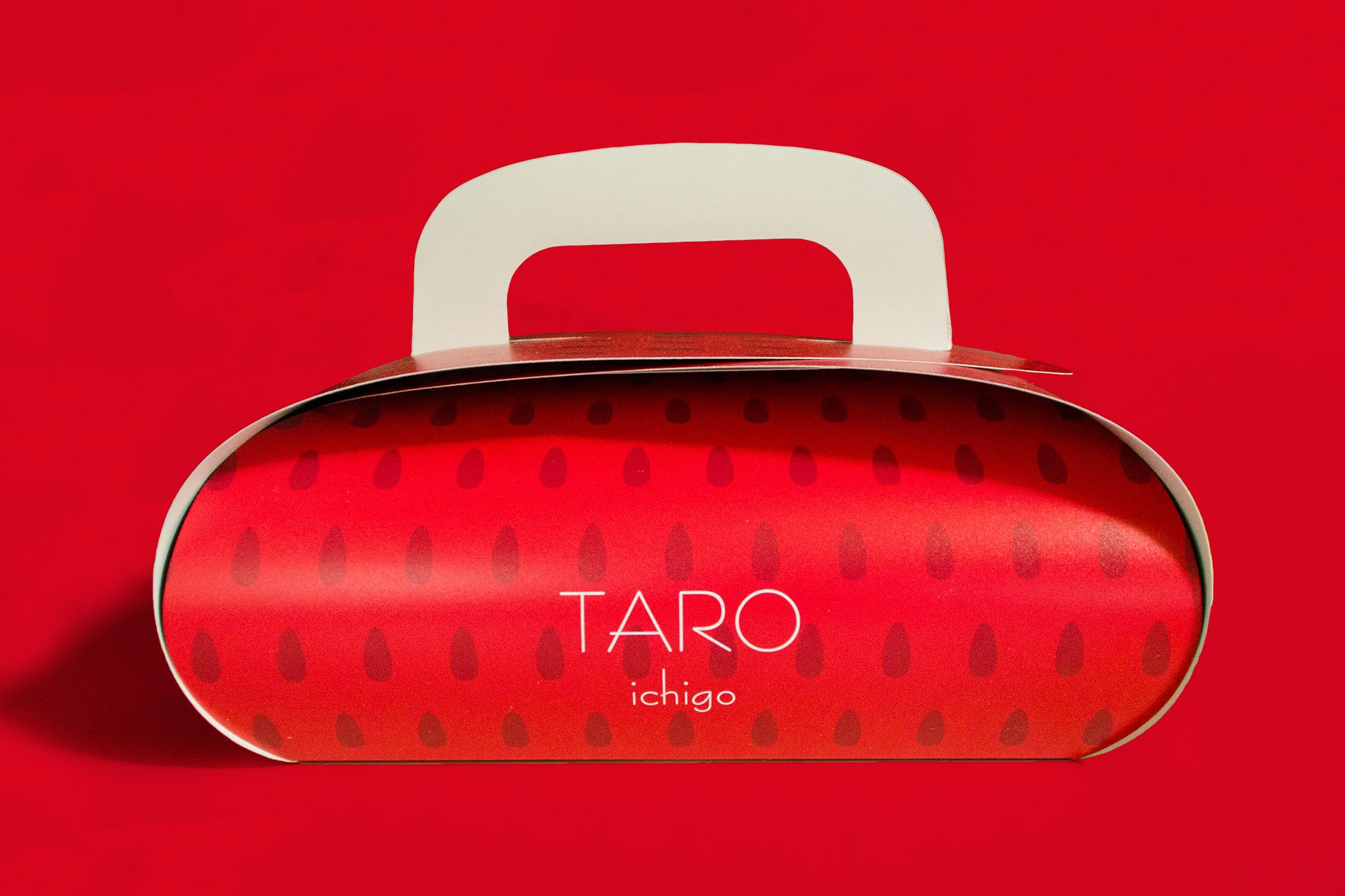 いちご贈答用パッケージ TARO
